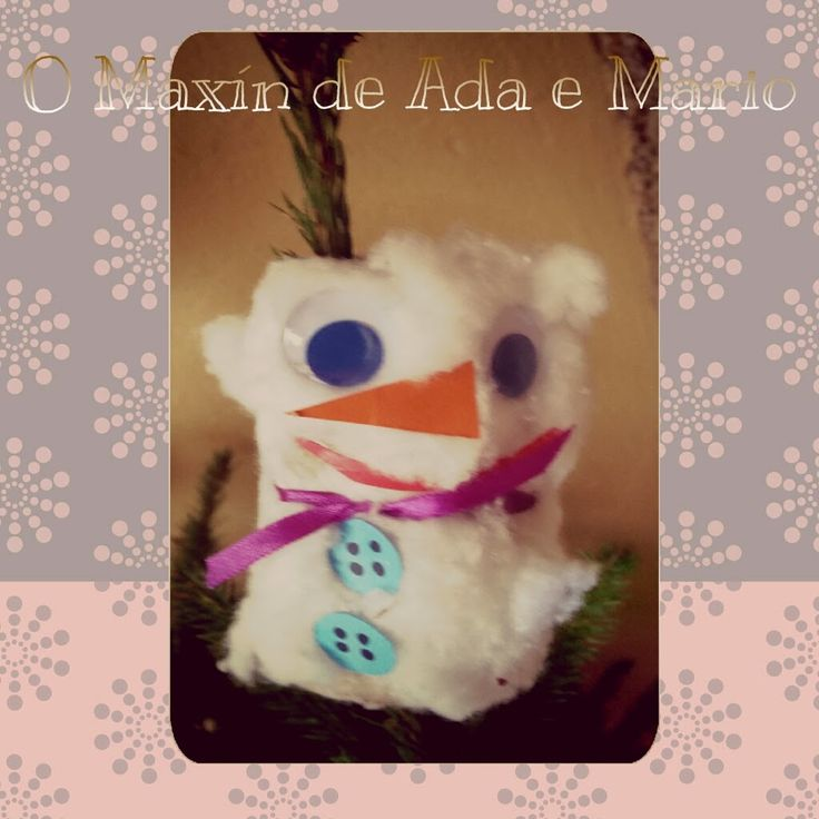 O Maxín de Ada e Mario:  El muñeco de nieve de Lala
