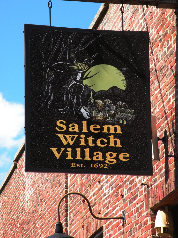 Salem Massachusetts Witch Village -- I would love to stock up on witchy souvenirs!