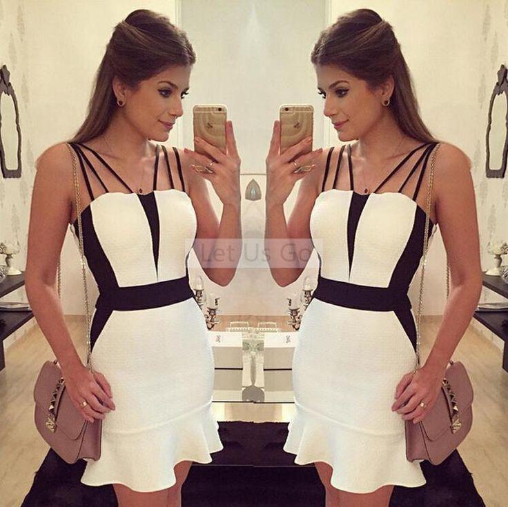 Cheap Visten 2015 nuevos verano estilo mujeres del vestido ocasional Mini moda de verano vestido Plus tamaño vestidos vestido de festa, Compro Calidad Vestidos directamente de los surtidores de China: El W hite