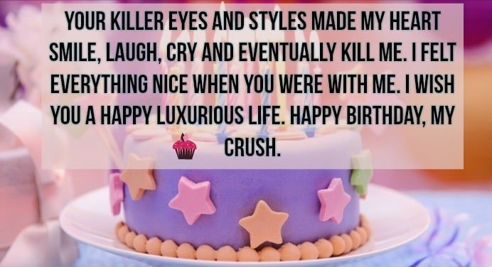 Birthday Images And Wallpaper For Your Crush Best Birthday Wishes Birthday Wishes For Myself Birthday Wishes For Friend