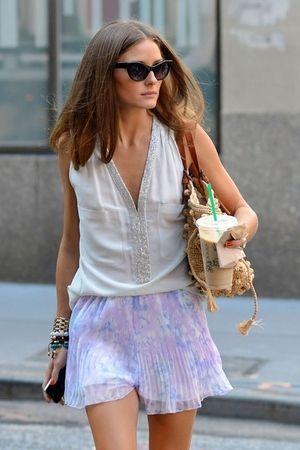 上品な春夏ファッションが可愛い!オリビア・パレルモの私服コーデ - NAVER まとめ