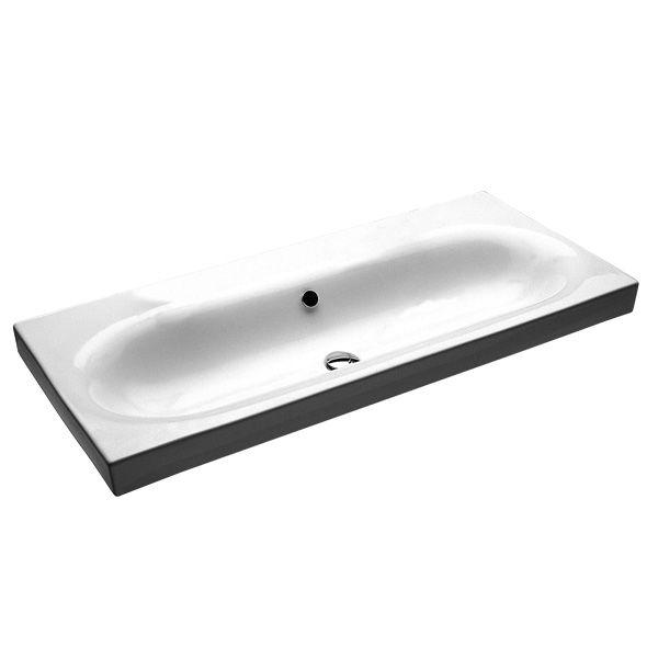 E&S Trading | Kitchen, Bathroom & Laundry - Hatria Daytime Wash Basin 110mm wide Y0YQ No Tap Hole $999