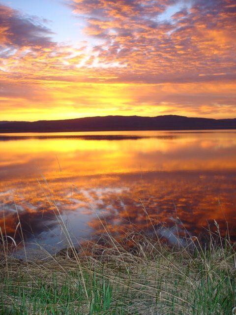 Francois Lake Sunrise. B.C.