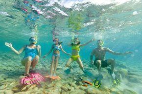 Férias com os filhos em Aruba (Foto: ATA / Divulgação)