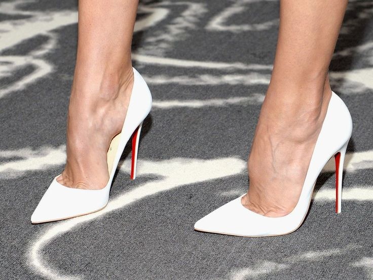 Louboutins on the go..