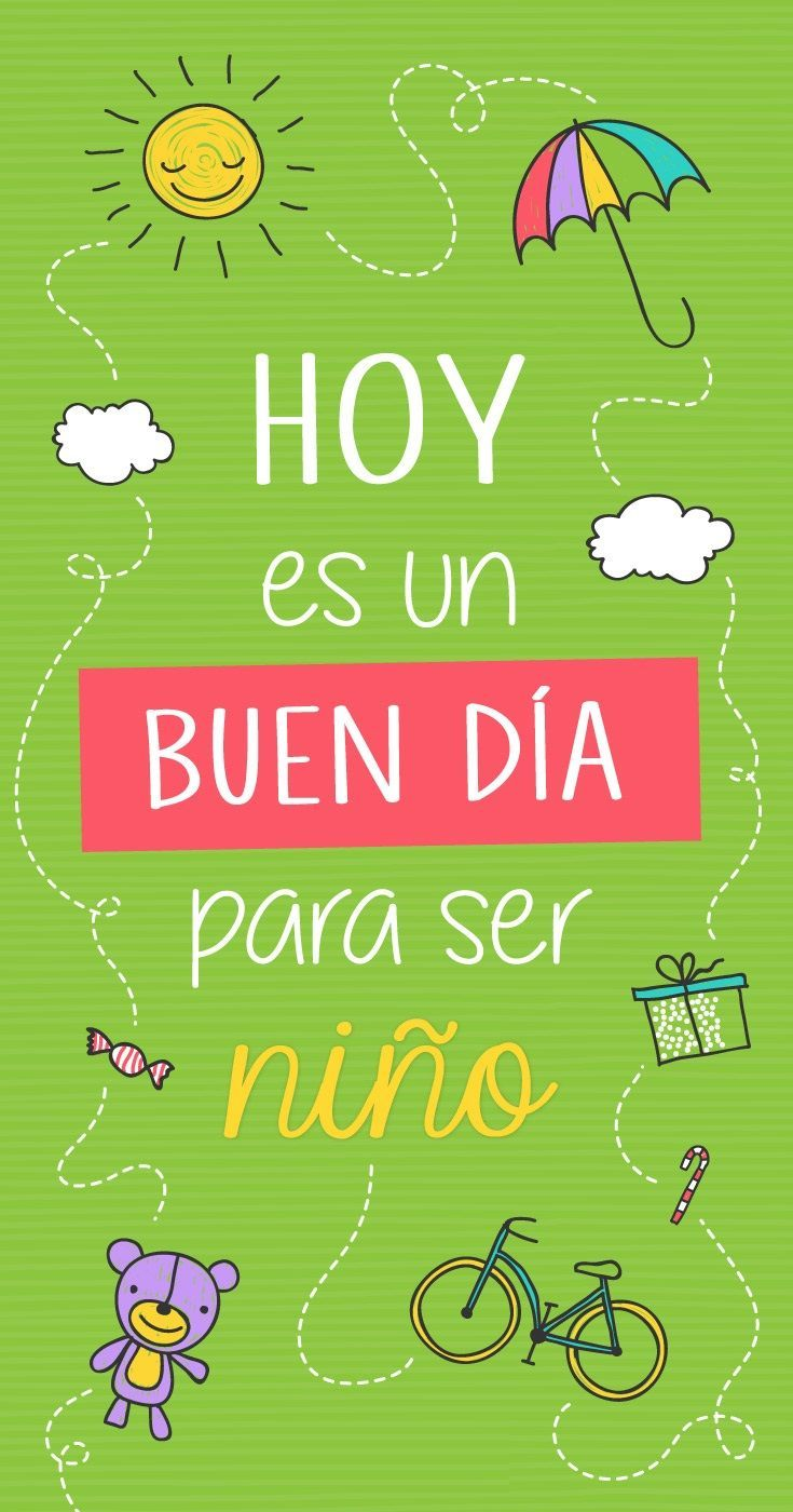 Cortos Para Ninos 1001 Frases De La Vida Child Day Quotes For
