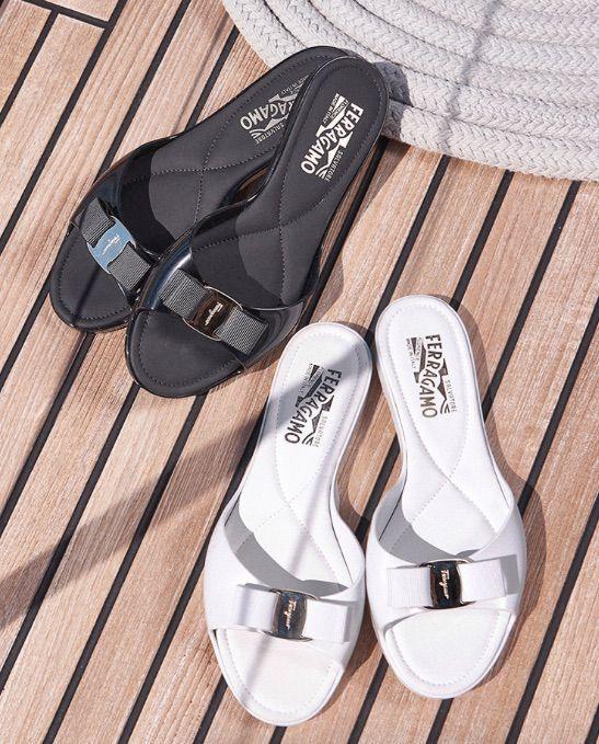 779c98bb35cf From Salvatore Ferragamo  Women s Cirella Slide Sandals ~Today s Fashion  Item  DesignerSandals  Ferragamo