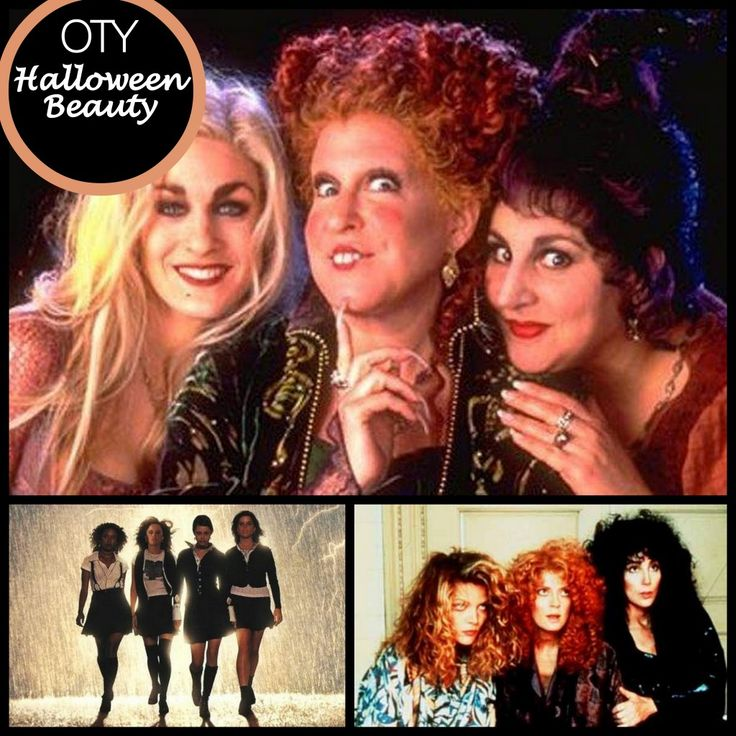 spooky chic halloween celluloid witches hocus pocus the witches of eastwicke and the - Halloween Movies About Witches