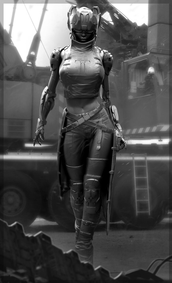 """""""I always found armor to be an odd concept, seeing as the cybernetic frame under my skin was stronger than anything they covered me with. But I suppose they didn't want their 'toy' being damaged during the prototype phase."""" Six."""
