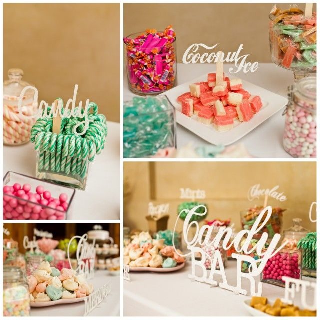 lasercut dessert bar | Nastassja Harvey #wedding