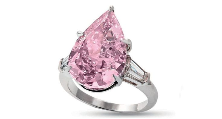 This 9.14-carat, fancy vivid pink diamond sold for $18.3 million to an unidentified Asian buyer at the Christie's Magnificent Jewels sale in Geneva