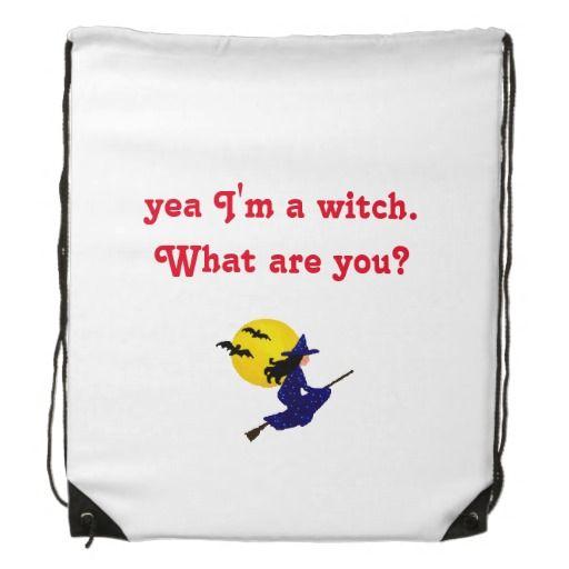 yea mig förmiddag en witch. backpacks