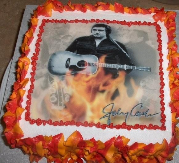 johnny cash birthday cakes - Google Search ****I have got to have this for my birhthday.. May 23rd. Anybody?) =)