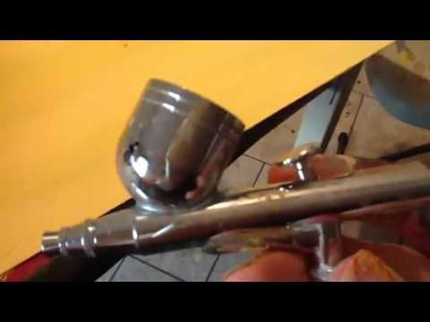 ▶ Airbrush cleaning and troubleshooting for beginners - YouTube
