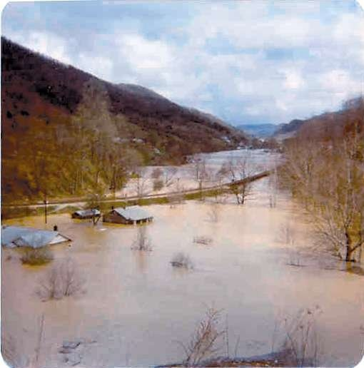 Clinchport, Va., flood in 1977. So many lives were changed....