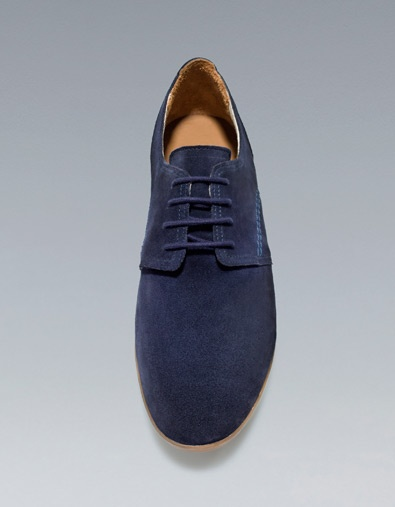 PERFORATED OXFORD SHOES - Shoes - Man - ZARA