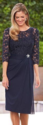 Ocasiones especiales Vestido 173 | Fashions Isabella | Madre de la novia, más tamaños y trajes de noche
