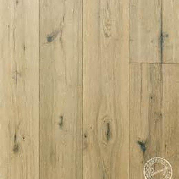 Show Details For Provenza Old World Siberian Oak Fossil Stone   Light Brown  Hardwood, Wide Plank, Wire Brushed