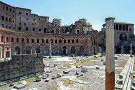 Roma, Mercado, Trajan, Antiguo, Piedras