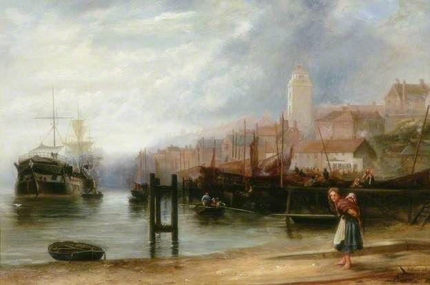 North Shields - Stephen Brownlow, 1880