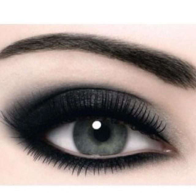 Simple Smokey Eye Wedding Makeup : Simple smokey eye Makeup Love(: Pinterest