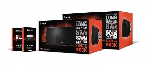 Korus V600 Wireless Speaker – The Power to Rock the House