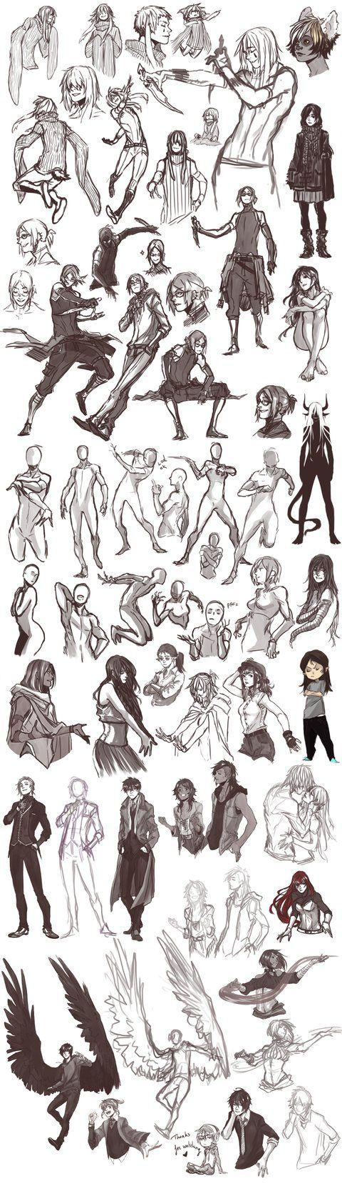 Sketch Dump 28 by Namonn on DeviantArt
