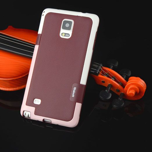 Matte ARMOR Soft TPU Hybrid Gel Case For Samsung Galaxy Note 4 N9100 N910F N910X 5.7