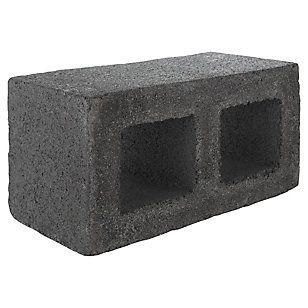 Grau 190x190x390 mm Bloque Cemento Liso Gris