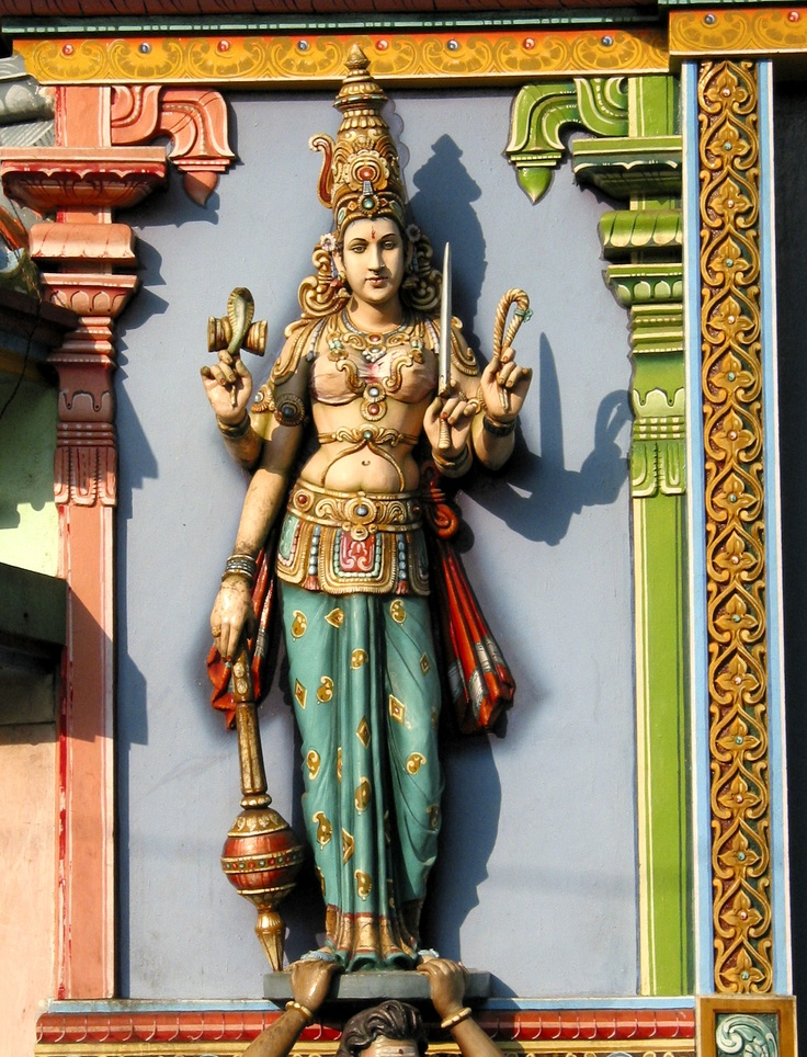The October festival Durga Puja centers around Durga, who takes many different forms in Hindu mythology (9, to be exact).