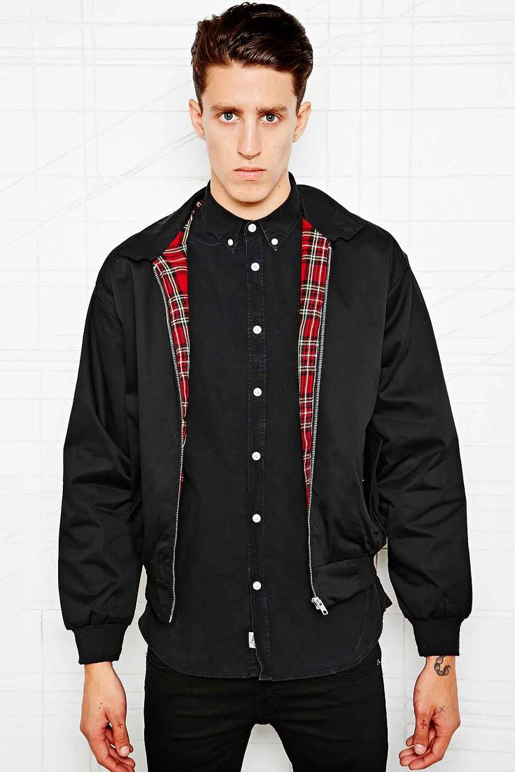 Urban Renewal Vintage Surplus Harrington Jacket in Black