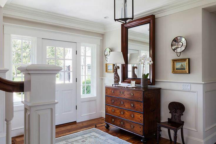 So many amazing ideas in this house. Love it! Coastal New England Harbor House | Patrick Ahearn