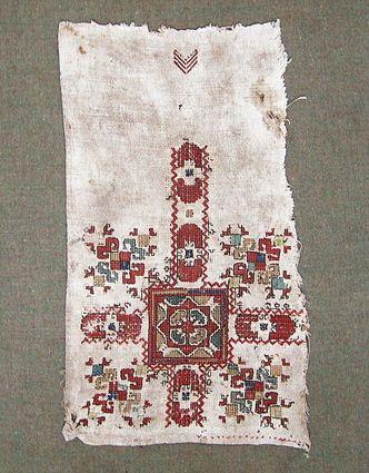 Чувашский государственный художественный музей - Узор покрывала невесты.