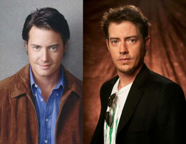 Jason London and his twin brother Jeremy.