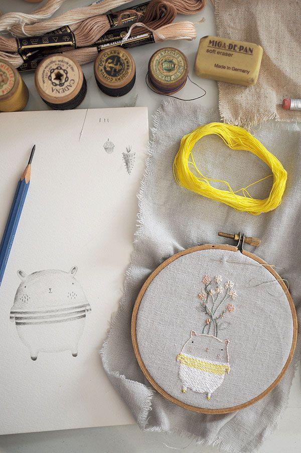 work in progress by miga de pan