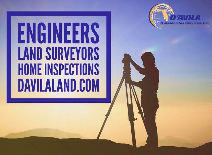 Land Surveyors  Engineers  Home Inspections . Davilaland.com  #davilaland #landsurveyors #homeinspection #engineer #miamirealestate #southflorida