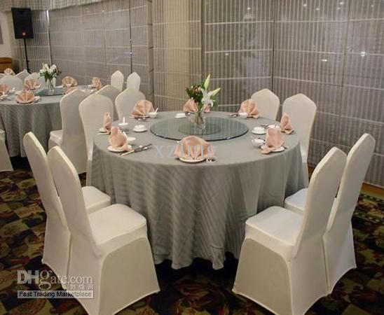 Modern Look With Fitted Stretch #spandexchaircovers #RentMyWedding #diy ·  Wedding Chair CoversWedding ...