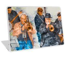 Musical Mates in Flinders Lane Laptop Skin