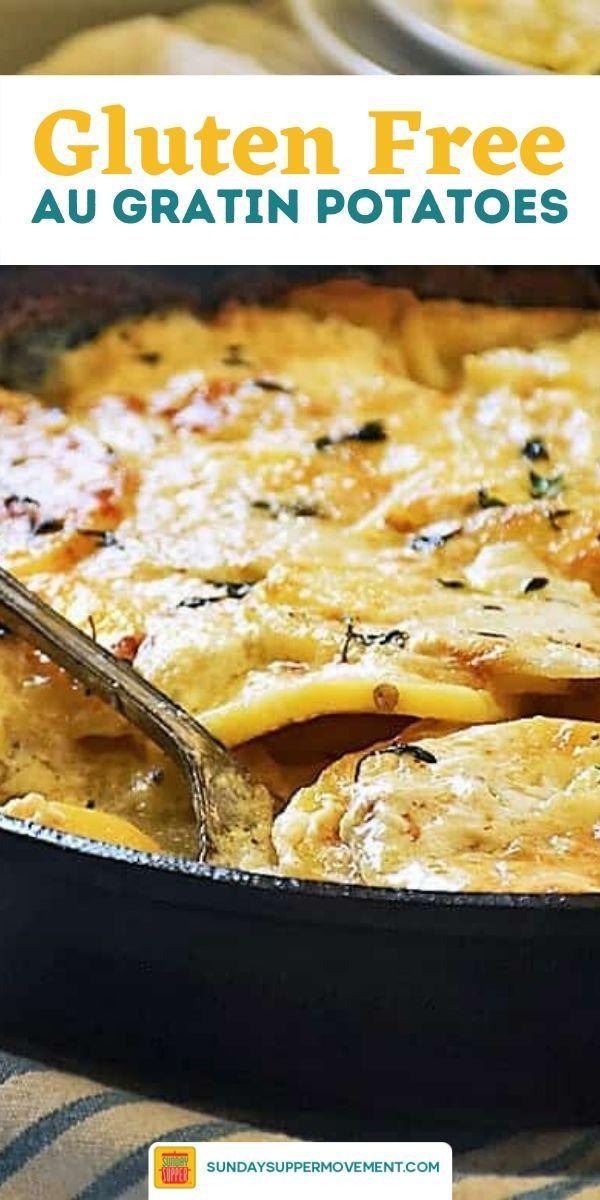Gluten Free Au Gratin Potatoes Recipe Potatoes Au Gratin Au Gratin Recipes Au Gratin