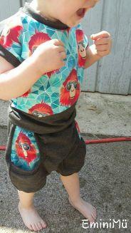 Freebook pumpkurz Emilias - kurze Pumphose für Kinder 56 - 134