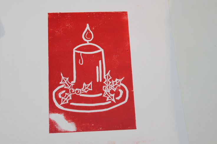 Festive Lino Printing at Fox & The Magpie, Shipley
