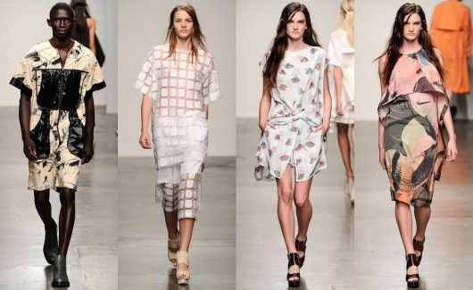 New York Fashion Week S/S 2014: Jeremy Laing