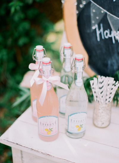 Wedding drinks: http://www.stylemepretty.com/missouri-weddings/springfield-mo/2014/09/23/fun-and-feminine-wedding-inspiration-shoot/ | Photography - Jordan Brittley - http://jordanbrittley.com/