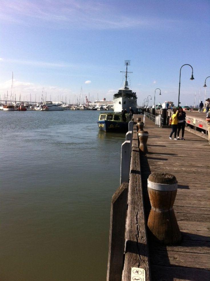 Gem Pier at Williamstown Melbourne Victoria