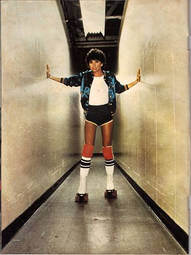 Miss Vintage Pop Culture: Roller Disco Week! Linda Ronstadt