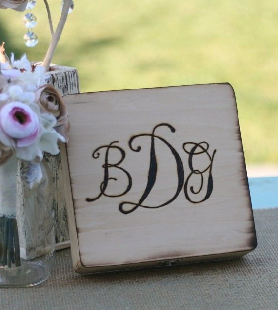 Rustic Engraved Cigar Box, Valentines Day Wedding Gift For Groomsmen  #Valentines Day Gift Ideas