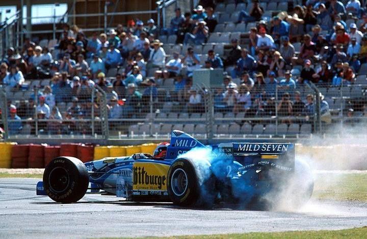 f1 Johnny Herbert Benetton - Renault 1995