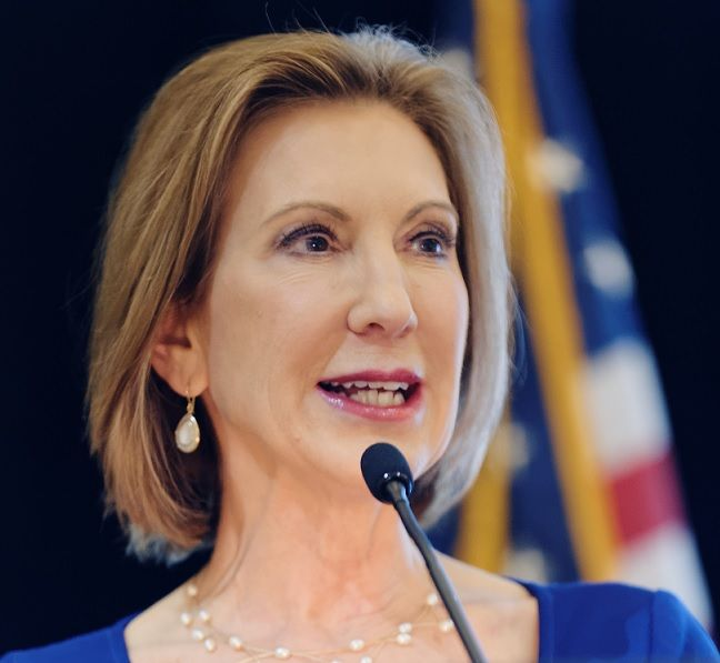Respectfully, Carly Fiorina, as a step-parent who lost a daughter to hard drugs, it is ironic you'd advocate for the prohibition of marijuana.
