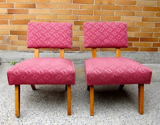 1960's matching chairs