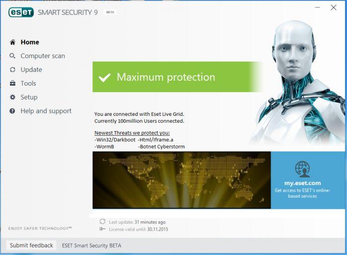 Free Eset Nod32 Antivirus 9 Offline Installer Download